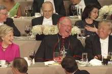 screen_shot_from_2016_al_smith_dinner_including_hillary_clinton_cardinal_timothy_dolan_and_donald_trump_screenshot_ny_times_youtube_video_cna